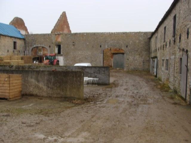 Début des travaux à la ferme de Miavoye