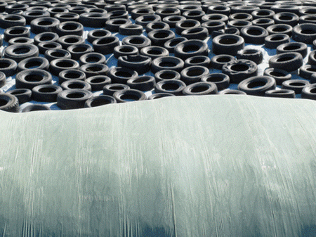 Collecte de pneus agricoles