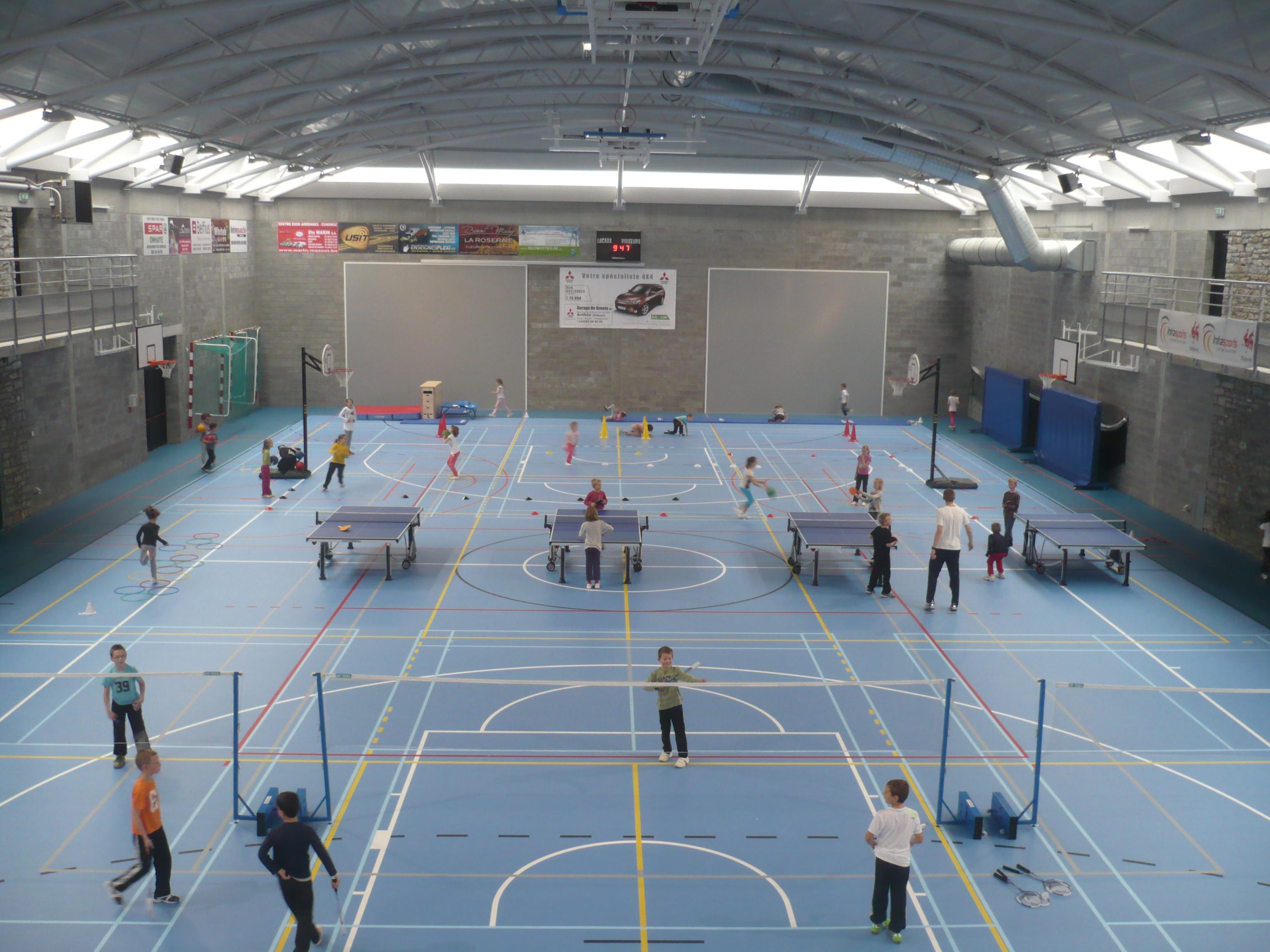 Organisation d'une journée sportive pour les élèves des écoles communales